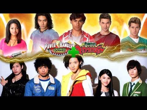 Power Rangers Dino Charge | Opening w/ Kyoryuger Theme
