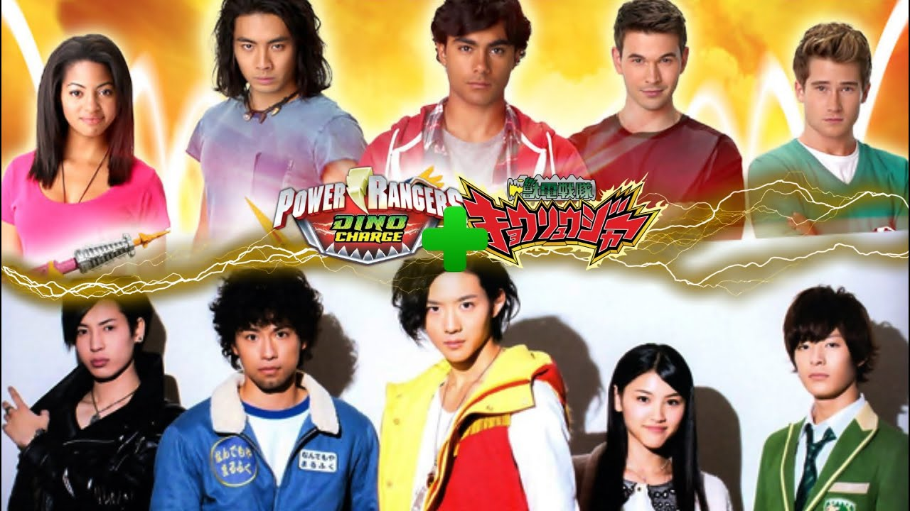 Image result for kyoryuger vs dino charge
