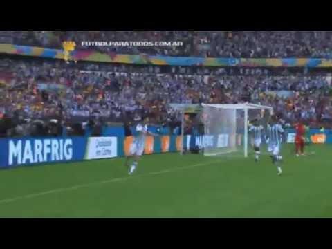 Lo mejor de Nigeria 2 - Argentina 3. Mundial Brasil 2014.