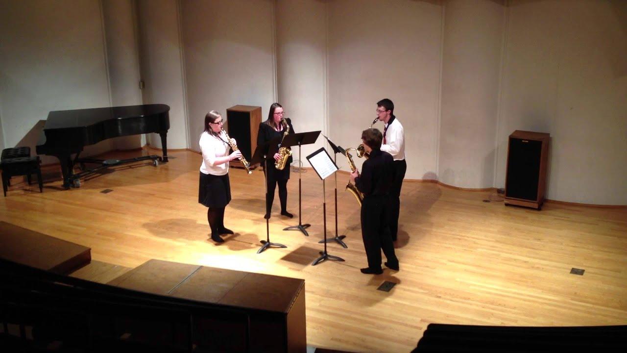 Virginia Tech Barefoot Saxophone Quartet - Aria
