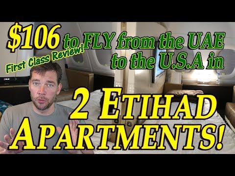 Travel Hack 011 (b) - Etihad Apartment Review: Abu Dhabi (AUH) to Denver (DEN)