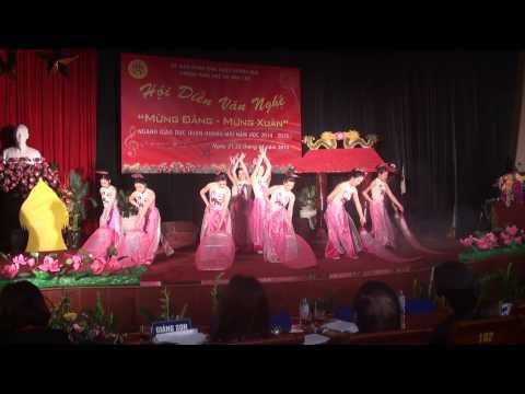 """Múa """"Hương Sen"""" - Trường Mầm non Hoa Mai - Tân Mai - Hoàng Mai"""