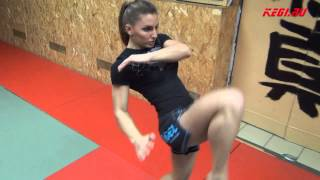 "MMA-KEGI: Alexandra ""Stitch"" Albu workout (made by kendziro)"