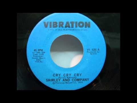 Shirley & Company - Cry cry cry (1975)