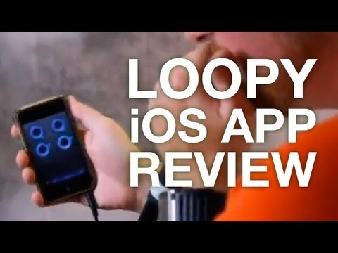 Hey Just J - Loopy App Review (Live Looping)