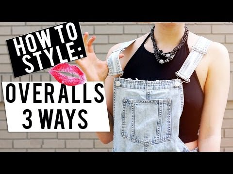 How To Style: Overalls - 3 Different Ways! ♡