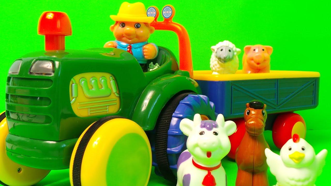 Farm Tractor Old Macdonald Had A Farm English Nursery