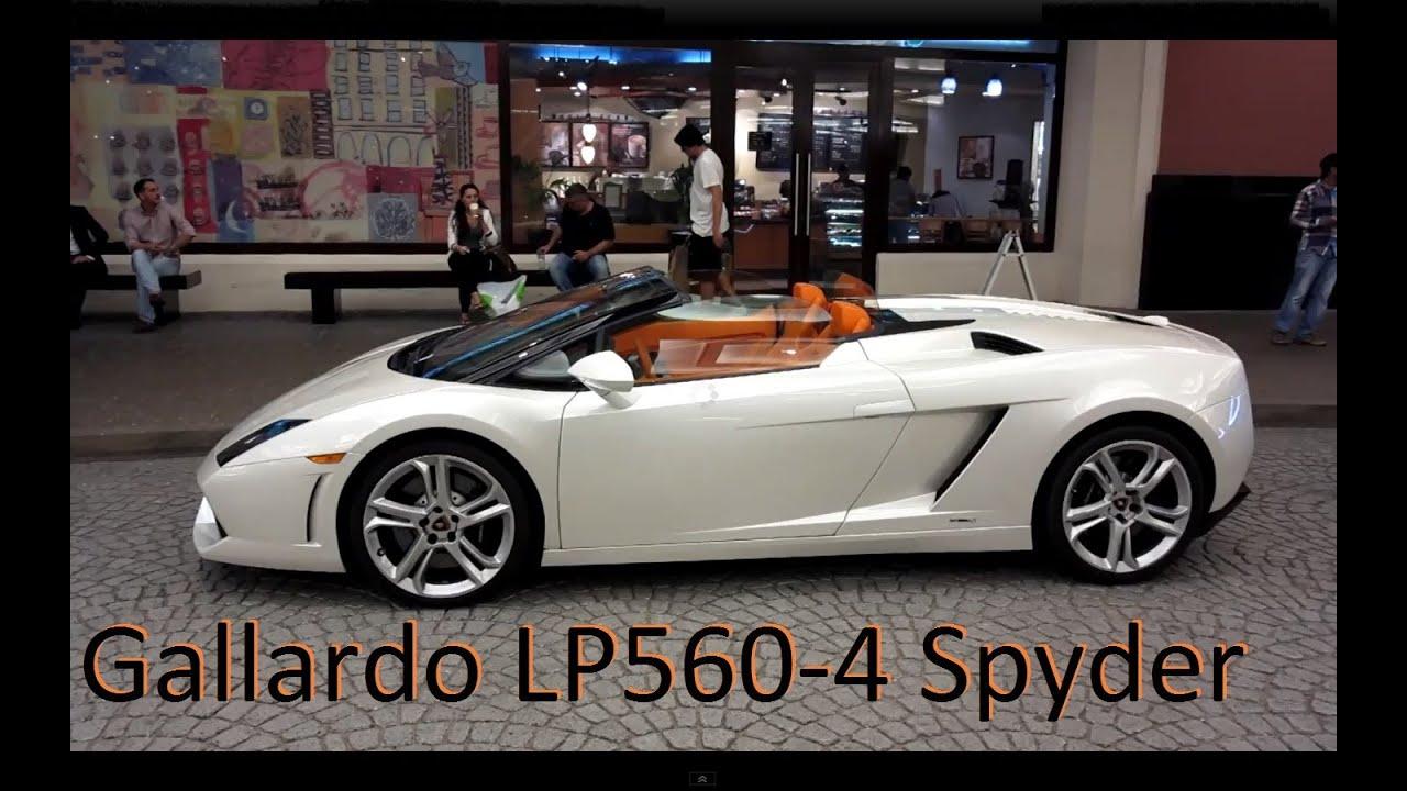 Lamborghini Gallardo LP5604 Spyder with the most awesome orange
