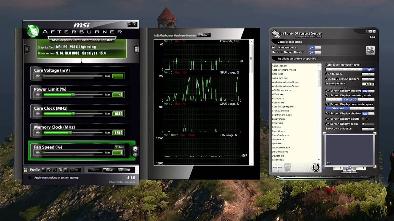 Improving Pc Game Performance Using Riva Tuner Statistics