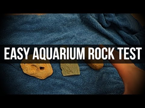 Easiest Aquarium Safe Rock Test!