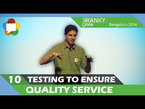 WebRTC: Testing to ensure quality service