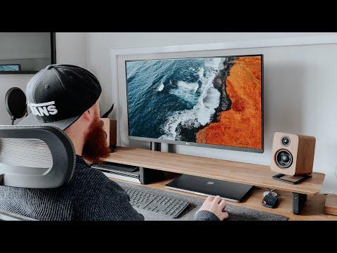 """The Perfect Productivity Monitor - LG 32"""" 4K UltraFine Ergo Setup"""