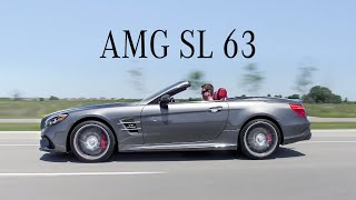 2018 Mercedes-AMG SL63 Review - Roadster With More Power Than An AMG GT-R