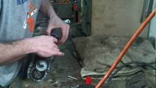 scrapping a hospital bed motor