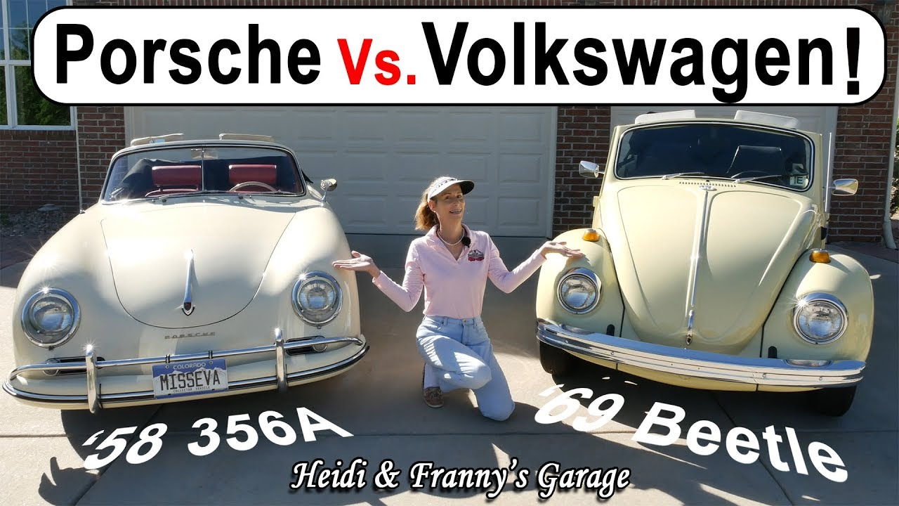 Porsche 356 Vs  VW Beetle! How are the different? (With Driving!)