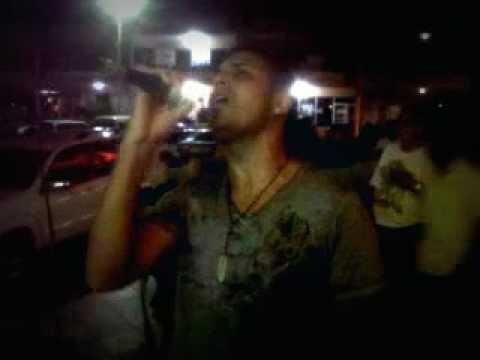 Jeyro en karaoke en Republica Dominicana