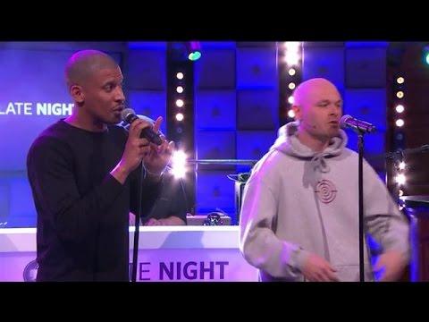 Rico & Sticks - Hoe Meer Je Praat - RTL LATE NIGHT