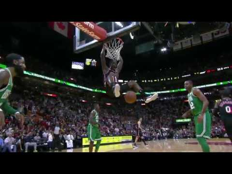 Dion Waiters dunk on Kyrie Irving