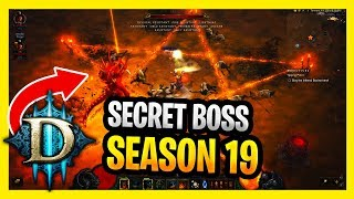 Secret Boss In Diablo 3 Season 19 Pandemonium SUPER Diablo 1000 Chain Boss Easter Egg