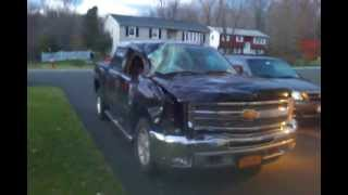 2012 Chevy Silverado Totalled By Hurrican Sandy