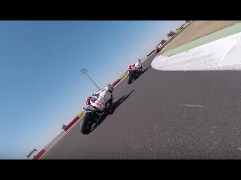 Onboard Albacete Circuit Riding with Ivan Silva ( Testing 27-8-2015 )