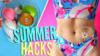 8 SUMMER Life Hacks YOU NEED To Know !!