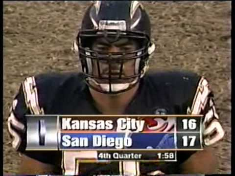Chiefs vs. Chargers, 2000
