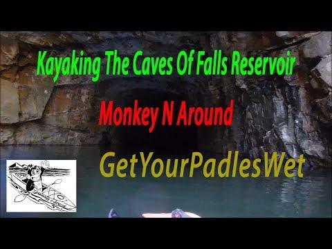 Falls Reservoir Kayaking in the Caves