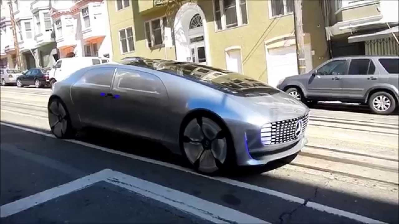 Mercedes Benz San Francisco >> Mercedes-Benz F015 Concept Car (San Francisco) - YouTube
