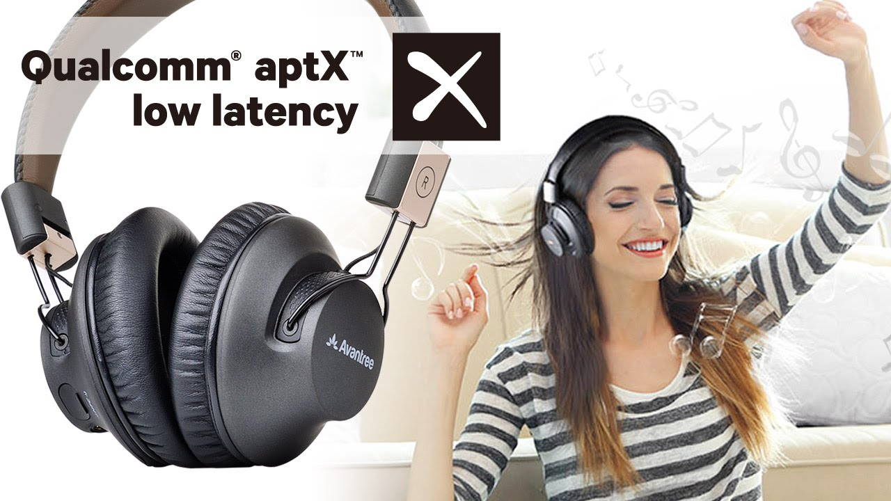 Bluetooth headphones for TV, LOW LATENCY wireless headset for no audio  delay - Avantree Audition Pro