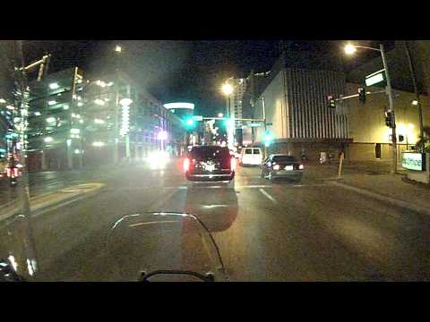 Riding from the Strip to Downtown Las Vegas