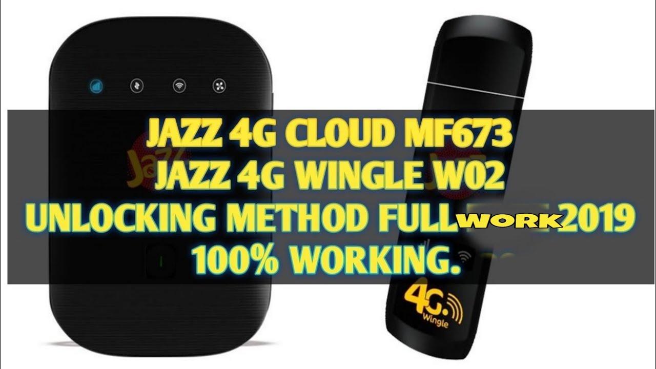 JAZZ 4G Device Unlock