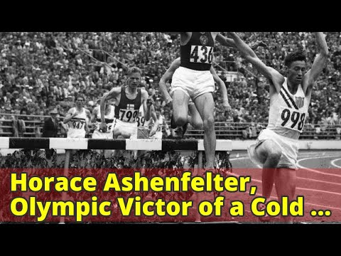 Horace Ashenfelter, Olympic Victor of a Cold War Showdown, Dies at 94