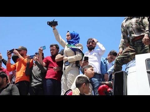 لشجاعتها وإرادتها الصلبة.. صحفية سورية تحصد جائزة -الشجاعة الصحفية-  - نشر قبل 2 ساعة