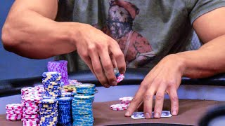 Garrett Adelstein Crushes WPT Champs Griffin Paul & Art Papazyan For $80,000 ♠ Live at the Bike!