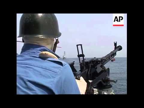 Multinational naval exercises begin to promote anti terror cooperation