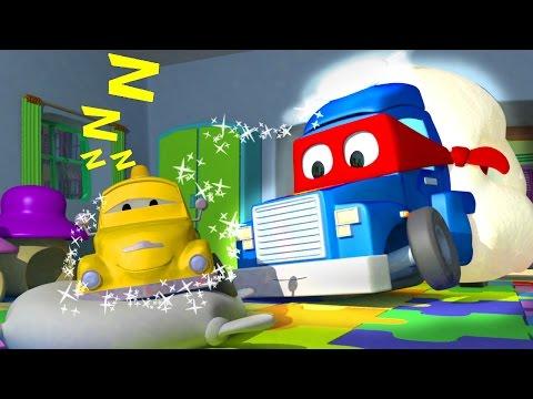 Carl the Super Truck is the SANDMAN in Car City | Trucks Cartoon for kids