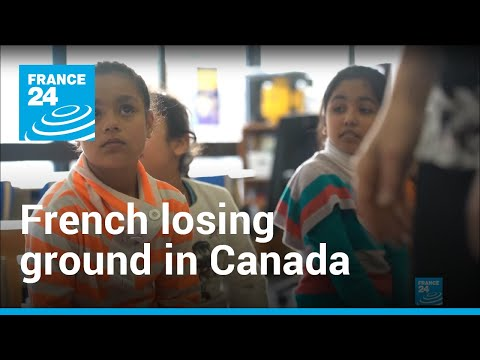 French Language Steadily Losing Ground In Canada
