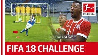 Top 10 free kicks - fifa 18 bundesliga free kick challenge