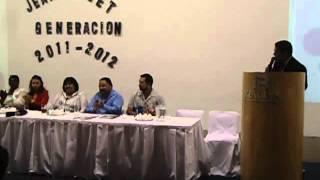 HUGO CARO CONDUCE  CEREMONIA DE GRADUACION DEL COLEGIO JEAN PIAGET CIUDAD JUAREZ