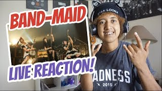 Band Maid Live Reaction! (Puzzle, Daydreaming)