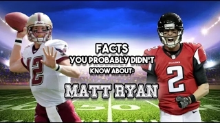 15 AWESOME Facts You Probably Didn't Know About Matt Ryan
