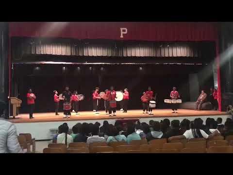 Provine high school drumline 2019 C.O.D & P.O.D