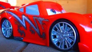 Cars Toon Dragon Lightning McQueen Disney Pixar Cars 2 Tokyo Mater Disco Music like Dragon-Ball-Z