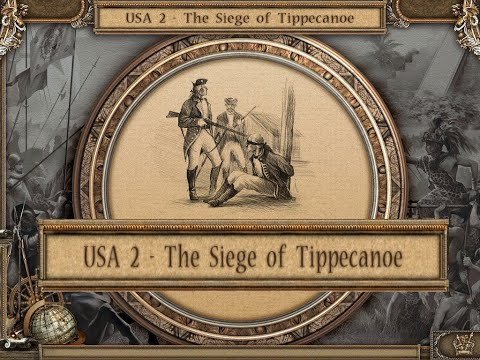 C6E2. KEEP CALM & DESTROY. American Conquest Campaign: USA 1 - The Siege of Tippecanoe |