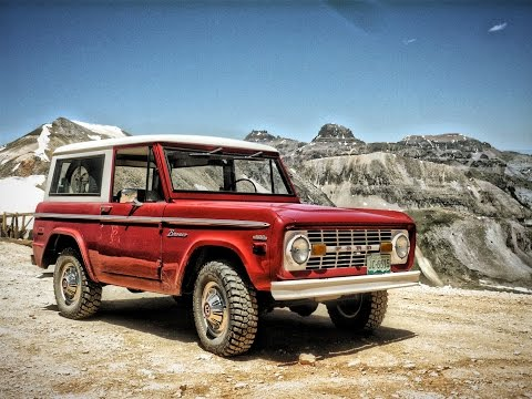1972 Ford Bronco - Offroad in the San Juan Mountains of Colorado