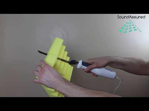 How To Cut Acoustic Foam
