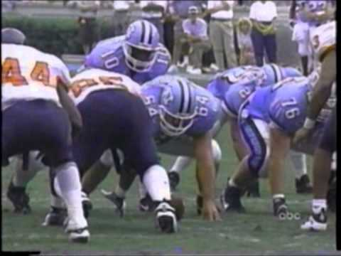 Virginia at #5 North Carolina - Football - Sept. 27, 1997