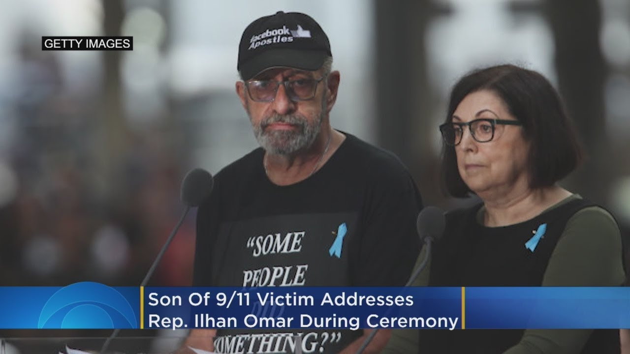 'Some People Did Something': Son Of 9/11 Victim Address Ilhan Omar During Memorial Ceremony