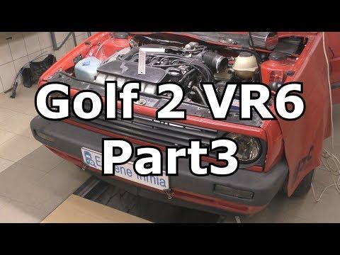 Volkswagen Golf Mk2 VR6 - Part3